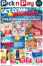 Find Specials || KZN Pick n Pay Birthday Promotions