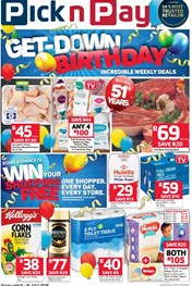 Find Specials || Eastern Cape Pick n Pay Birthday Promotion