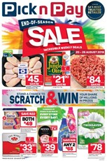 Find Specials || Eastern Cape Pick n Pay End of Season Deals
