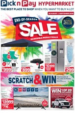 Find Specials || Pick n Pay Hypermarket End Of Season Sale