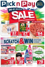 Find Specials || Inland Pick n Pay End Of Season Sale