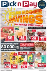Find Specials || Inland PnP Sizzling Summer Savings
