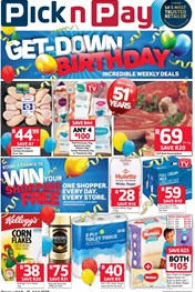 Find Specials || Western Cape Pick n Pay Birthday Promotion