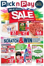 Find Specials || KZN Pick n Pay End of Season Specials