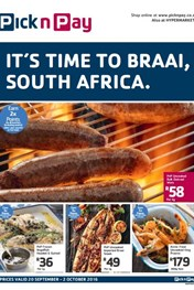 Find Specials | Pick n Pay Time to Braai Deals