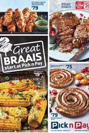 Western Cape Pick n Pay Braai Specials