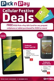 Pick n Pay Cellular Deals
