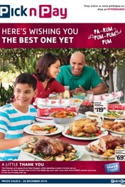 Pick n Pay Christmas Deals