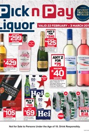 Pick n Pay Liquor Specials