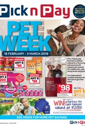 Pick n Pay Pet Promotion