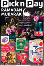 Find Specials || Western Cape Pick n Pay Ramadaan Mubarak