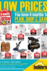 Find Specials || Builders Warehouse price lock down specials