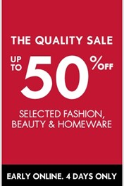 Woolworths Quality Sale!