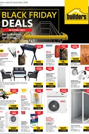 Find Specials || Builders Black Friday Specials 2018 Catalogue