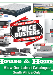 House and Home Specials Catalogue