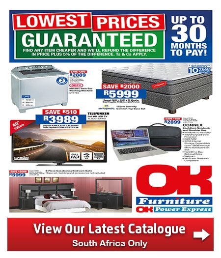 Furniture Specials: OK Furniture Stores Catalogue 23 Jan 2018