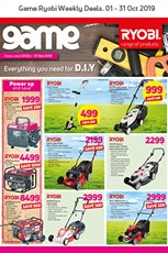 Find Specials || Game Ryobi Deals