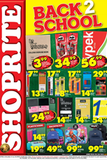Find Specials || Shoprite Back to School Specials