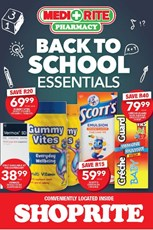Find Specials || Shoprite Medirite Back To School Essentials