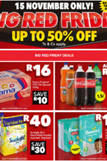 Find Specials || Shoprite Big Red Friday Deals