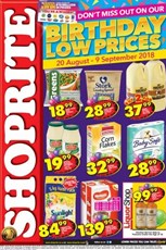 Find Specials || Shoprite Birthday Promotion