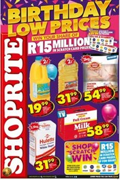 Find Specials || Eastern Cape Shoprite Birthday Low Prices