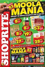 Find Specials || EC Shoprite Moola Mania Promotion