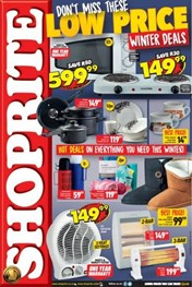 Find Specials || Eastern Cape Shoprite Small Appliances Specials