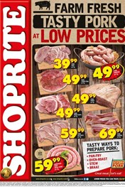 Find Specials || Eastern Cape Tasty Pork Shoprite Promotion