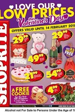 Find Specials || Eastern Cape Shoprite Valentines Day Deals