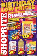 Find Specials || Gauteng, Limpopo, Mpumalanga, North West Shoprite Birthday Deals