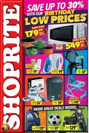Find Specials || Gauteng, Limpopo, Mpumalanga, North West Shoprite Birthday Promotion