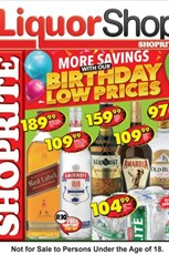 Find Specials || Gauteng, Limpopo, Mpumalanga, North West Shoprite Liquor Specials