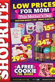 Find Specials || Gauteng, Limpopo, Mpumalanga, North West Shoprite Mothers Day Deals