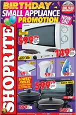 Find Specials || Gauteng, Limpopo, Mpumalanga, North West Shoprite Small Appliances Specials