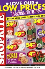 Find Specials || Gauteng, Mpumalanga, Limpopo, North West Shoprite Valentines Day Promotion