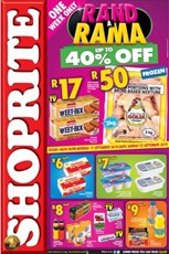 Find Specials || Great North Shoprite Rand a Rama Specials