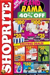 Find Specials || Great North Shoprite Rand a Rama Promotions