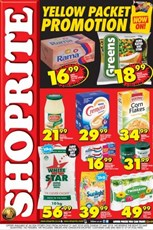 Find Specials || Shoprite Yellow Packet Promotion