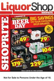 Find Specials || Shoprite International Beer Day Promotion