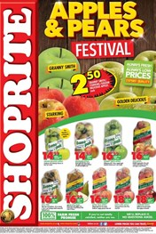 Find Specials || Northern Cape, Free State Shoprite Apples and Pears Promotion