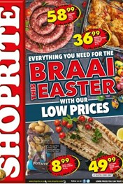 Find Specials || Northern Cape, Free State Shoprite Braai Easter Deals