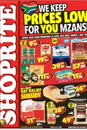 Find Specials || Northern Cape, Free State Shoprite Low Price Deals
