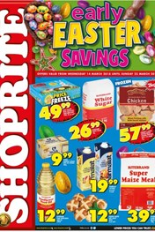 Find Specials || Northern Cape, Free State Shoprite Early Easter Deals