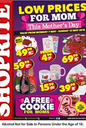Find Specials || Northern Cape, Free State Shoprite Mothers Day Specials
