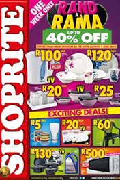 Find Specials || Northern Cape, Free State Shoprite Rand a Rama Deals