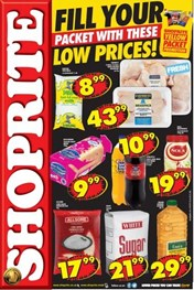 Find Specials || Western Cape Shoprite Yellow Packet Deals