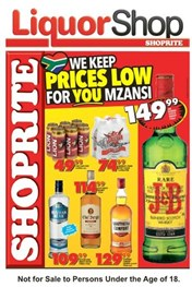 Find Specials || Western Cape Shoprite Liquor Promotion
