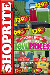 Find Specials || Western Cape Shoprite Spring Promotion