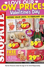 Find Specials || WC Shoprite Valentine's Day Specials